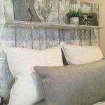 Farmhouse Whitewash reclaimed wood rustic king queen full twin headboard