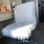 Faux Fur Chair COVER, Slipcover, Faux Fur Cover, Fur Slipcover, Fur Chair Cover, Armless Chair Slipcover, Custom Slipcover,  Chair cover