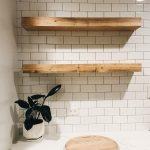 Floating Shelf Floating Shelves, Farmhouse Style Floating Shelf, Nursery Shelf, Rustic Shelving, Floating Nightstand