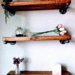 Floating shelves, Barn wood, Wood shelf, Industrial shelf, Reclaimed wood shelf, Pipe shelf, Pipe Shelves, Pipe Shelving, Rustic Shelf