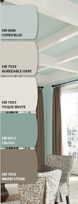 For the master bedroom, maybe.- Love this color scheme! – Home Decor