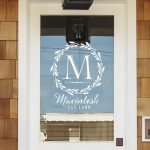 Front Door Decal | Family Monogram | Personalized Storm Door Decal | Custom Family Wall Decal | Front Door Monogram