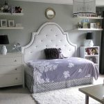 Full headboard with a twin mattress/frame turned longways: a brilliant way to sa...