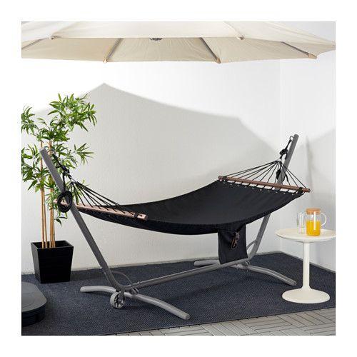 GÅRÖ Hammock stand, outdoor – gray – IKEA