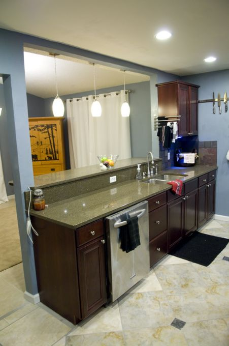 Galley Kitchen Remodels | Kitchen remodel, I had a really small galley kitchen a…