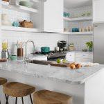 Galley kitchen #whitegalleykitchens #Kitchen #White #Galley #Kitchens