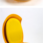 Garden Egg Chair: Designed by Hungarian Peter Ghyczy, 1967-8. Features typical o...