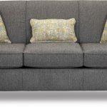 Griffin Denim Blue Queen Sofa Bed with Memory Foam Mattress - Spencer