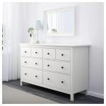 HEMNES 8-drawer dresser - white - IKEA