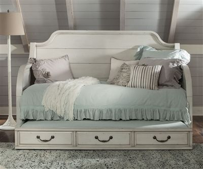 Hancock Park Twin Size Daybed with Trundle Y3681-59   Magnussen Home   Kids and Teens Bedroom Furniture