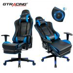 High-Back Ergonomic Swivel Gaming Chair Racing With Lumbar Support - Office Chai...