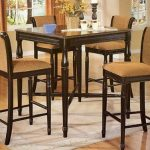 High Top Kitchen Table And Chairs simple art high top kitchen table sets plain high kitchen table for WHAXHGI - Kitchen Ideas