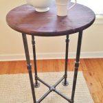High Top Table, Table, Cocktail Table, Handmade Table, High-Top Table, Industrial Table, Small Kitchen Table, Bar Table, Small Dining Table