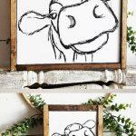 Home Decorating Ideas Farmhouse *This cow sign makes me laugh!!! Love it!! Farmhouse Sign!