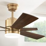 Home Decorators Collection Hexton 52 in. LED Indoor Brushed Gold Ceiling Fan with Light Kit and Remote Control-56024 - The Home Depot