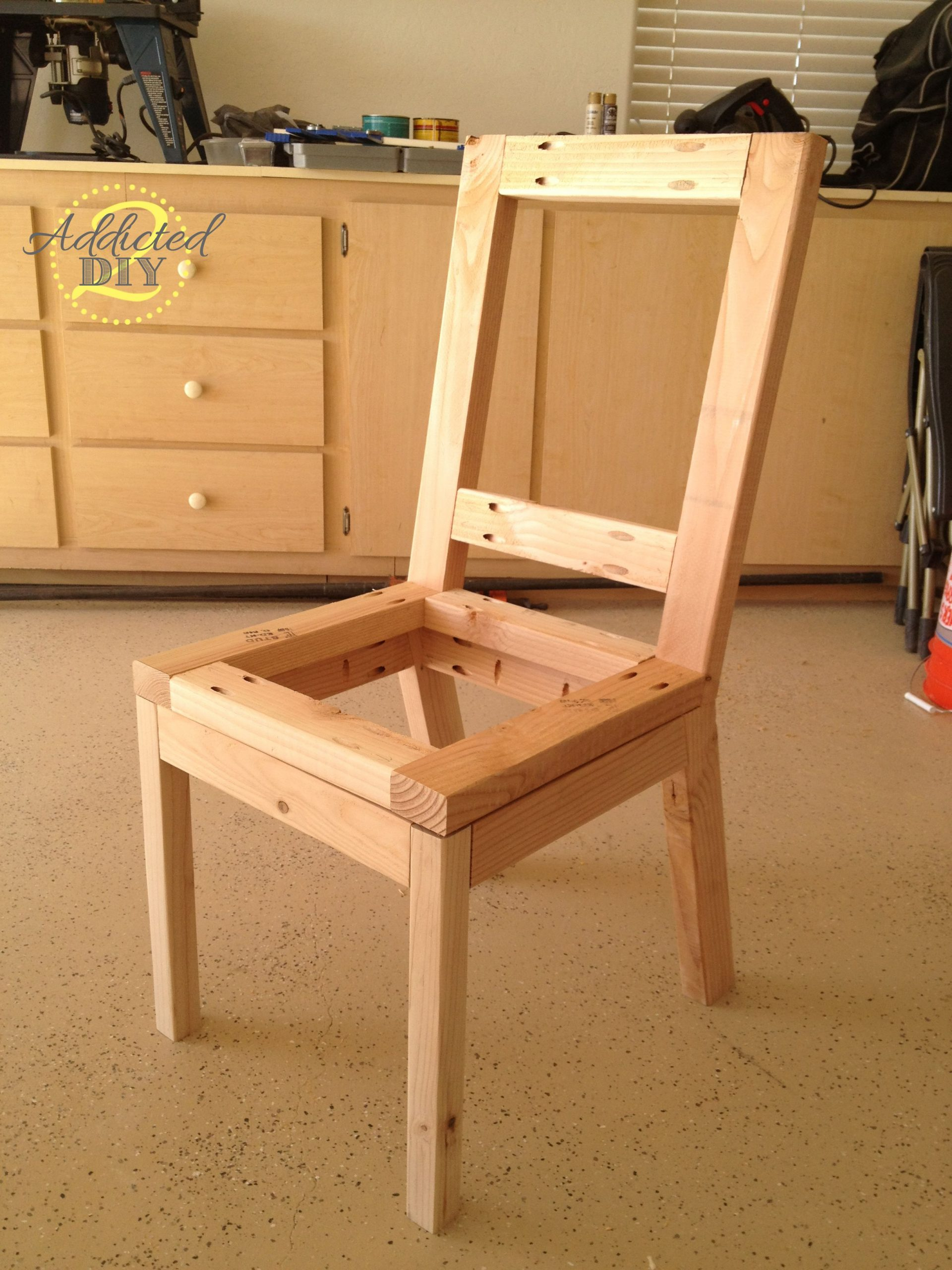 How To Build Upholstered Dining Chairs – Addicted 2 DIY