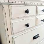How to Distress Furniture with Vaseline - Simply Vintage
