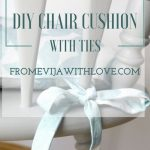 How to Make a Chair Cushion with Ties - From Evija with Love
