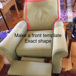 How to make a slipcover for a recliner - DIY Slipcovers and Alterations