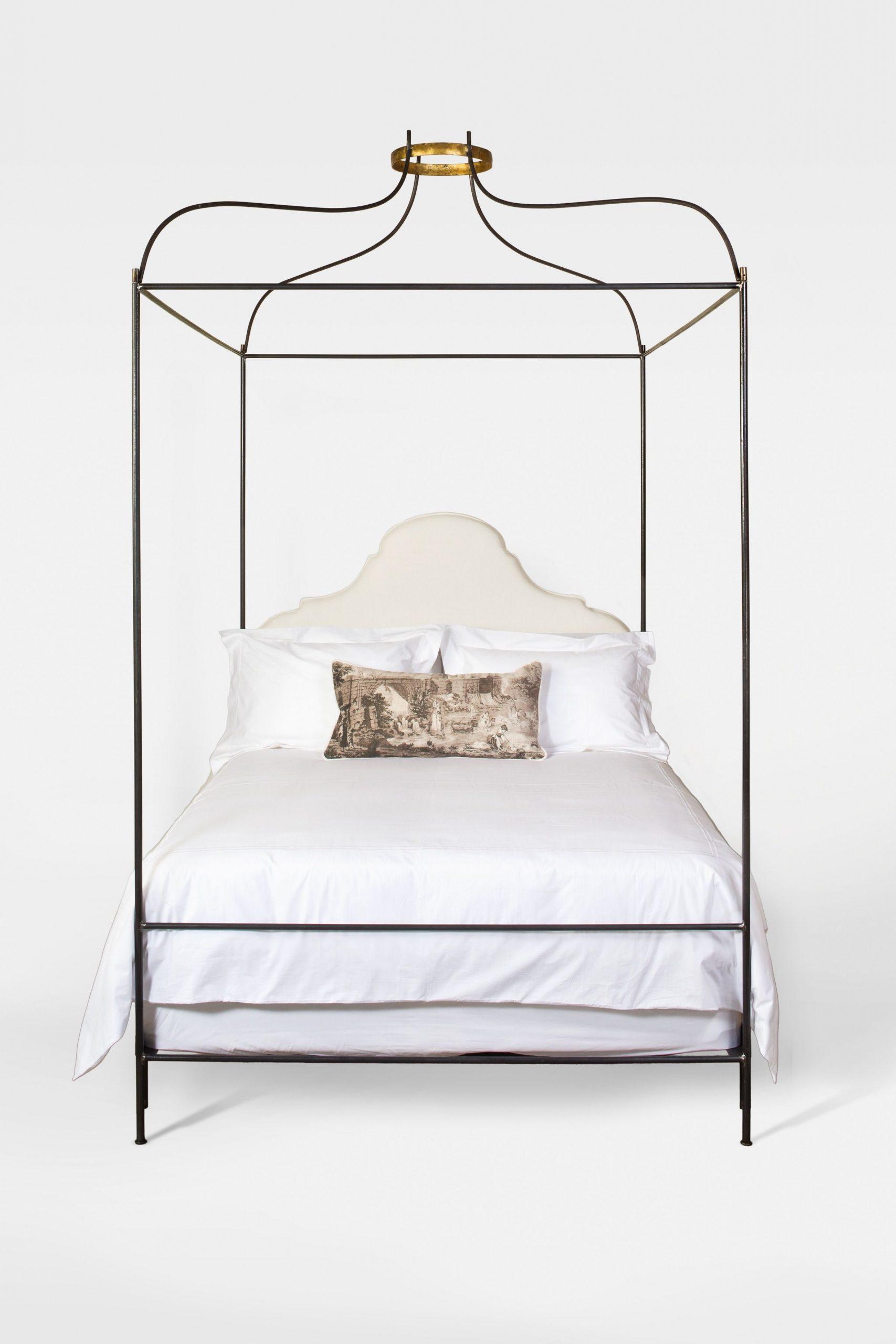 IRON VENETIAN CANOPY BED