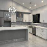 Kitchen: Modern Kitchen Cabinets In Miami Stone International Pantry Cabinet Bas...