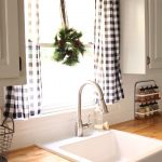 LOVE THE BLACK AND WHITE BUFFALO CHECK CURTAINS.