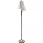 Ledu Antique Brass Swing Arm Floor Lamp Delivery in Toronto
