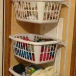 Love love love thus idea for my small space!! Laundry room