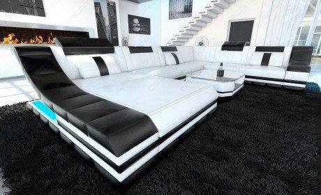 Luxury Sectional Sofa New York XL LED