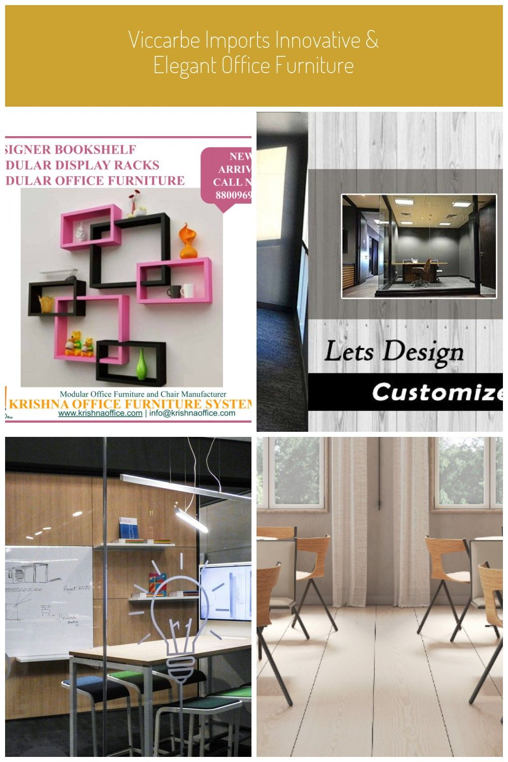 MODULAR BOOKSHELF #TRENDING KOFS is Complete solution for your All Office Furnit…