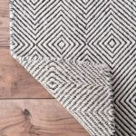 Marcelo Hand-Tufted Wool/Cotton Ivory Area Rug