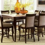 Marseille Marble Top Counter Height Dining Room Set