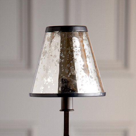 Mercury Glass Chandelier Shade | Ballard Designs