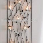 Metal wall mounted tealight candle holder, wall candle holder, kerzenhalter, HWW...