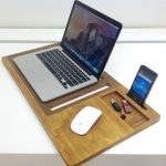 Mobile Air Desk Macbook Stand Laptop Stands Lap Desk Laptop Stand Portable Desk Lapdesk Laptop Desk Laptop Table Universal Lap Desk Standing