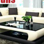 Modern Glass Center Table Design For Living Room - TopDekoration.com