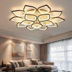 Modern New Acrylic Modern LED Ceiling Lights For Living Room Bedroom Plafond LED Home Lighting Ceiling Lamp For Bedroom Foyer Red Pendant Light Pendent Lights From Meerosee11, $136.04| DHgate.Com