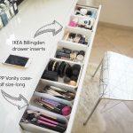 My make up storage/vanity/bedroom tour   Expat Make Up Addict-make up storage id...