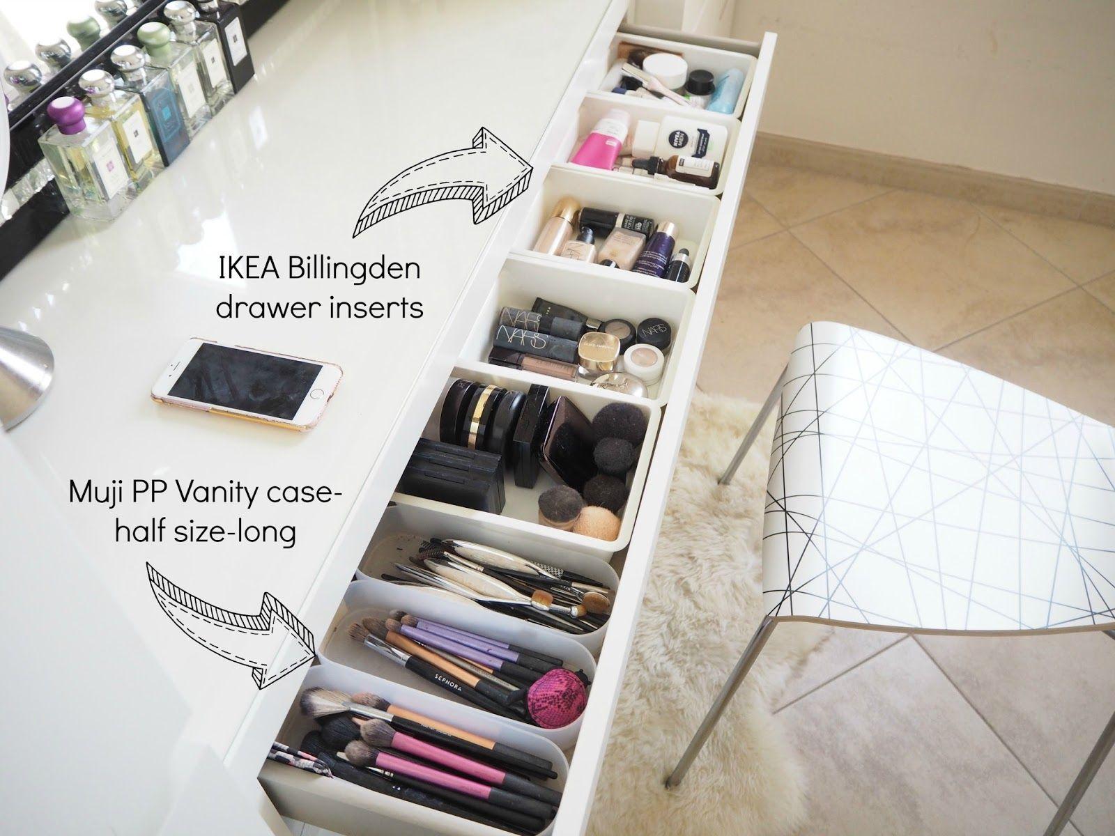 My make up storage/vanity/bedroom tour   Expat Make Up Addict-make up storage id…