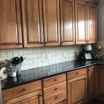 My painted kitchen cabinet makeover...before, after and everything in between! | Wilshire Collections