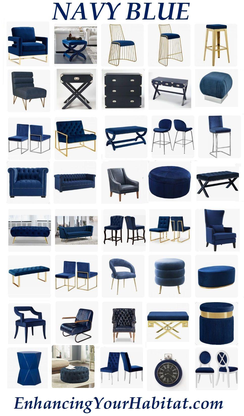 Navy Blue Furniture Navy Blue Velvet Navy Blue Leather Navy Blue Fabric Navy Blu…
