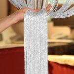 New 200cm*100cm Fly Screen Fringe Tassel Curtain String Sparkle Curtains Room Divider Door Window Decor | Wish