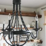 New Dining Room Light - The Wood Grain Cottage