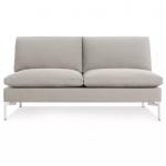 "New Standard 60"" Armless Sofa"