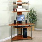 Nice Computer Desks for Small Spaces small desk with shelf small space computer desk solutions tall qgektqj - Furnish Ideas