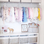Nursery Closet Organization Ideas For The Perfectly Organized Baby Room - Involvery
