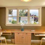 Office Desk: 2 Person Desk Home Office Furniture Desks For Small Spaces Double C...