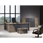 Orren Ellis Tindle Modern 3 Piece L Shaped Desk Office Suite | Wayfair