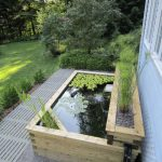Our above ground koi pond built in 2011
