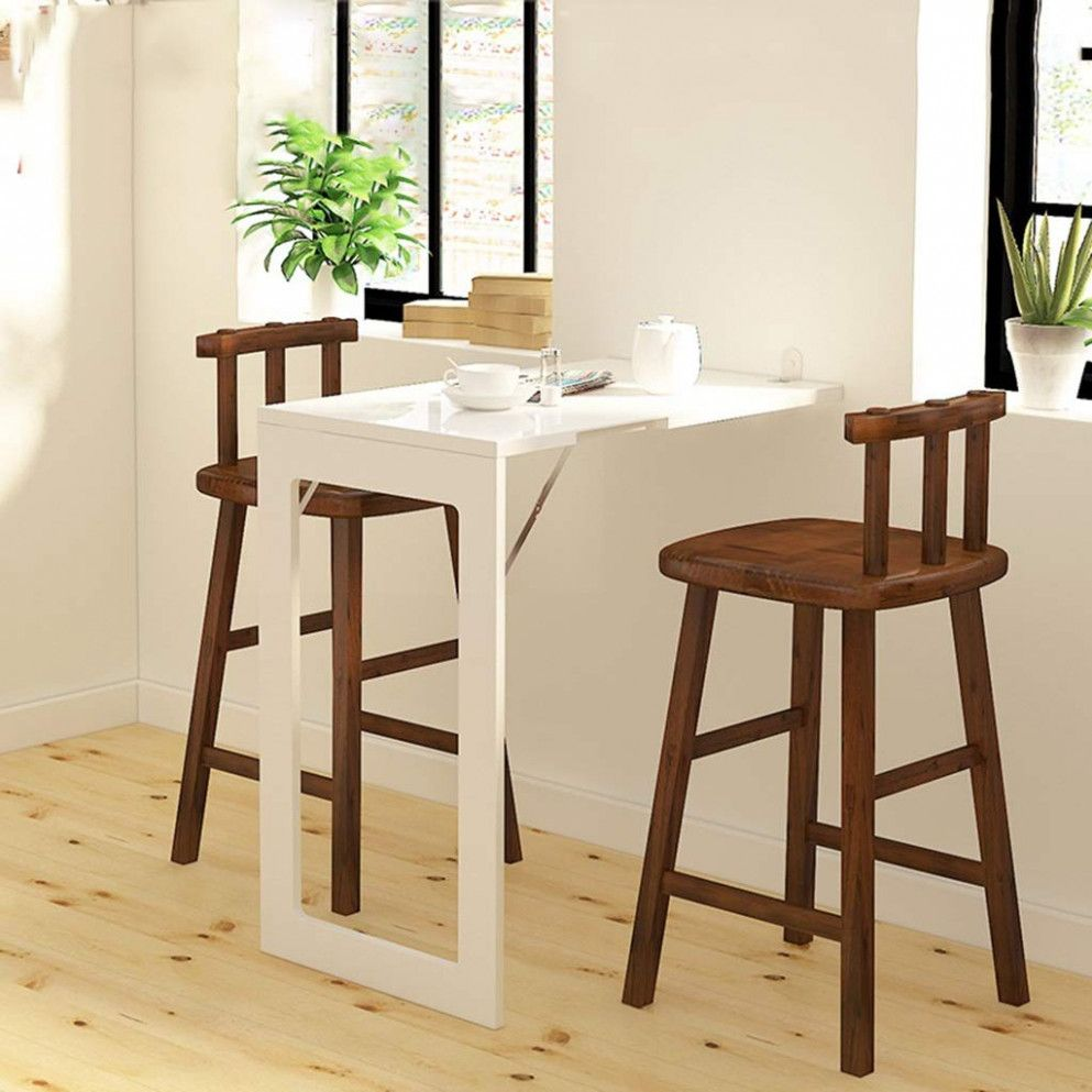 Outstanding folding dining table for small space